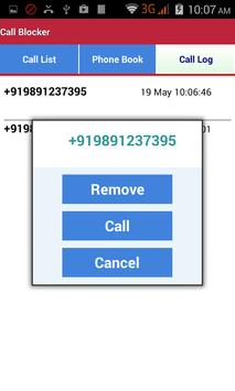 Call Blocker apk screenshot