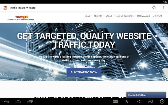 Amazing Traffic Maker poster