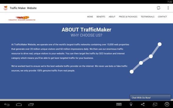Amazing Traffic Maker apk screenshot
