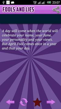 Fools and Lies April 2016 poster