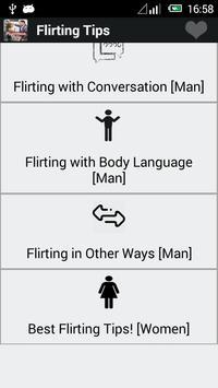 Best Flirting Tips poster