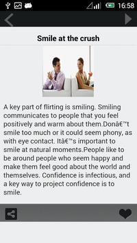 Best Flirting Tips apk screenshot