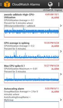 AWS Console apk screenshot
