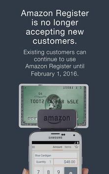 Amazon Register poster