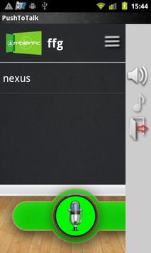 Push2Talk Free apk screenshot