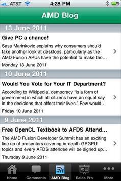 AMD SalesPro apk screenshot