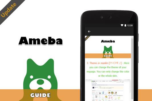 Guide for Ameba アメーバ apk screenshot