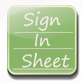 Sign In Sheet Beta icon