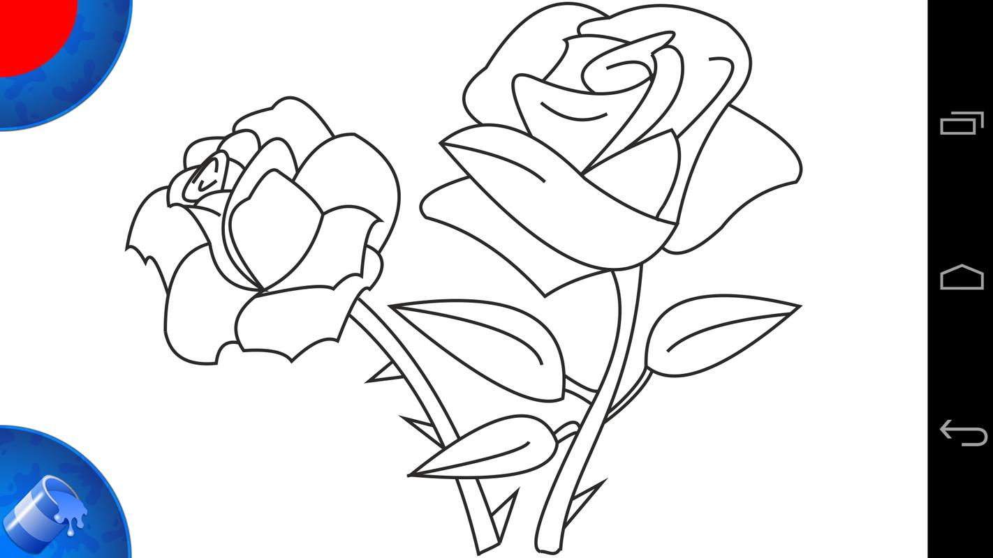 Photos To Coloring Pages App : Coloring pages plants apk download free casual game for