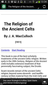 Religion of the Ancient Celts poster