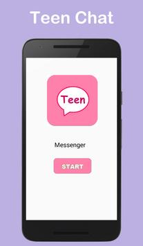 Teen Messenger and Chat poster