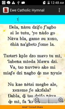Ewe Catholic Hymnal apk screenshot