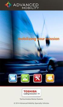 AMSTCORP Toshiba Mobile Design poster