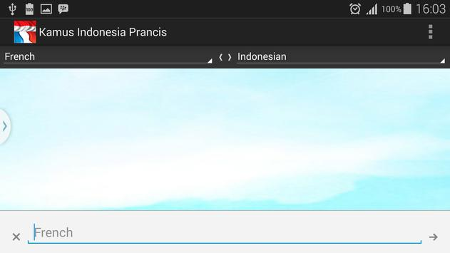 French Indonesian Dictionary apk screenshot