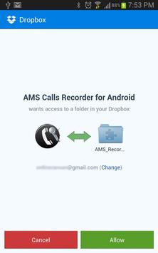 AMS Mobile Phone Call Recorder apk screenshot