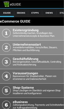 eGUIDE - Der eCommerce Berater poster