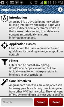 AngularJS Pocket Reference poster
