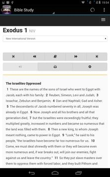 NIV Holy Bible New Version apk screenshot