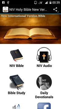 NIV Holy Bible New Version poster