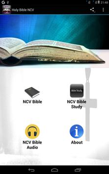 Holy Bible NCV poster