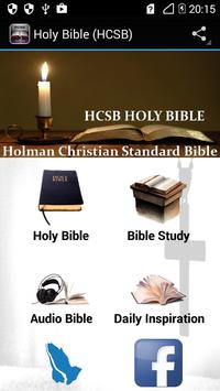 Holy Bible (HCSB) poster