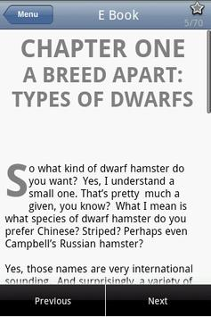 Dwarf Hamster Care apk screenshot