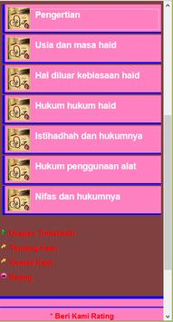 Fiqih Wanita Lengkap apk screenshot