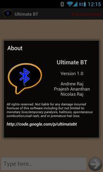 Ultimate BT apk screenshot