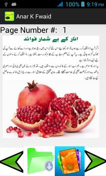 Pomegranate (Anar)  K Fwaid apk screenshot