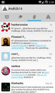 Nuit du Hack 2014 apk screenshot