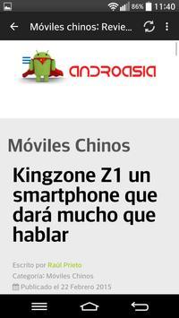 Moviles chinos Androasia apk screenshot