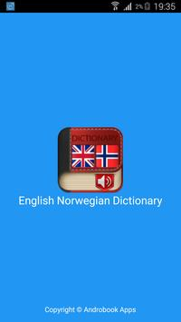 English Norwegian Dictionary poster