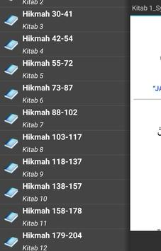 Kitab Al Hikam Ibnu Athoillah apk screenshot