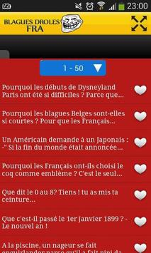 Blagues Droles FRA apk screenshot