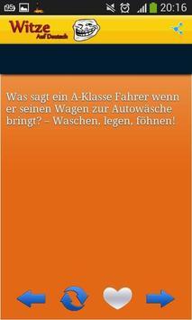 Witze Auf Deutsch apk screenshot