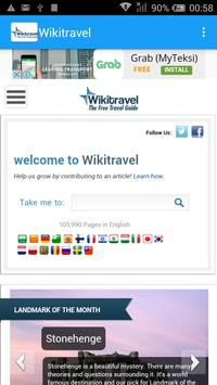 Wikitravel Mobile Guide poster