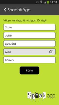 Speakapp Haninge apk screenshot
