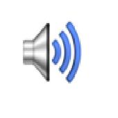Spoken text icon