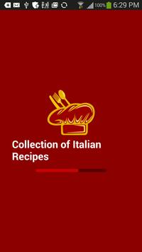 Collection of Italian Recipes poster