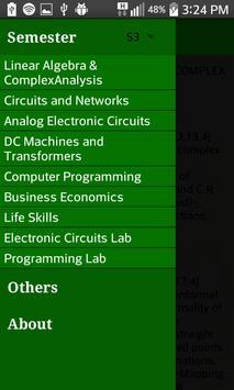 KTU Electrical Syllabus apk screenshot