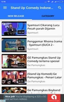 Stand Up Comedy Indonesia 2016 apk screenshot