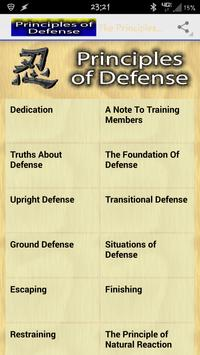 The Principles of Defense poster