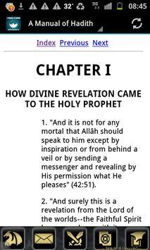 A Manual of Hadith (English) poster