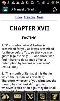 A Manual of Hadith (English) apk screenshot