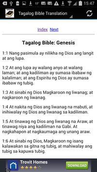 Tagalog Bible Translation apk screenshot