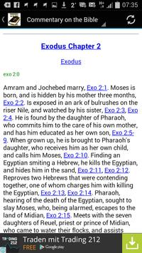 Commentary on the Bible apk screenshot