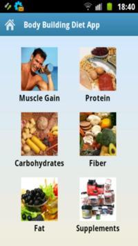 Body Building Diet App apk screenshot