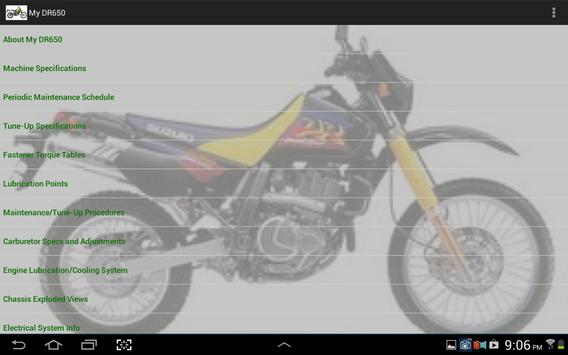 My DR650 apk screenshot
