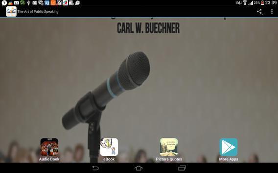The Art of Public Speaking apk screenshot