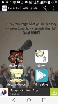 The Art of Public Speaking poster